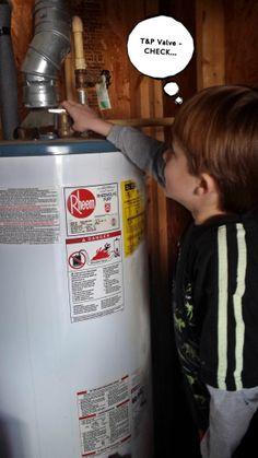 More fun water heater repair pictures.