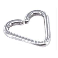 Дешевое Полированной G23 титановый пирсинг 16 калибра титан Daith в форме сердца серьги размеры, Купить Качество Украшения для тела непосредственно из китайских фирмах-поставщиках:                                                    Примечания: