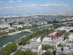The Seine, looking East from the Eiffel Tower
