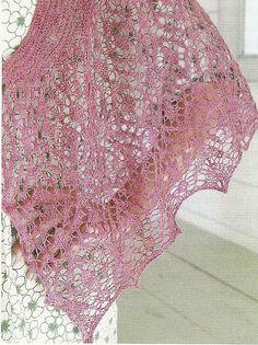 Ravelry: Fantasia Shawl pattern by Anniken Allis