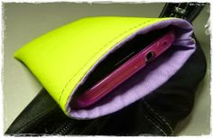 bag for your mobile phone - tutorial