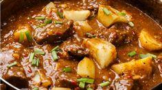Slow Cooker Barbacoa Brisket (& 3 other crock pot recipes for seniors) Crock Pot Recipes, Slow Cooker Recipes, Meat Recipes, Indian Food Recipes, Cooking Recipes, Slow Cook Beef Recipes, Serbian Recipes, Kale Recipes, Meat Rubs