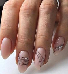 Nude manicure: 30 ideas to note – Summer Nails – Nail Trends