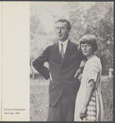 Hugo Ball und Emmy Hennings