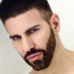 Gregory Nalbone by Kiko Dionisio Arab Men, Real Man, Beautiful Men, Hot Guys, Tumblr, Instagram Posts, Photography, Beards, Cute Guys