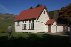 Old Port Levy School, New Zealand
