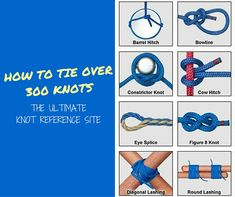 24 Scouting Knots To Know. A simple knot could actually save your life! The scouts have the best collection of knots so lets learn the best of them