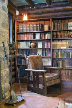 Stickleyu0027s Craftsman Farms: I Would Live In This Corner. Craftsman Interior,  Craftsman Style