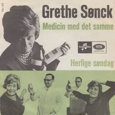 """""""Herlige søndag"""" performed by Grethe Sønck. Danish version of song from the Swedish finale for Eurovision 1966. Grethe is alway great."""