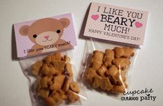 This will be Ryan and Brody's valentines this year! Perfect for toddlers! :)