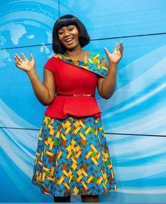 Ghana Dresses, Latest African Fashion Dresses, African Dresses For Women, African Attire, African Inspired Fashion, African Print Fashion, Africa Fashion, African Print Dress Designs, Ankara