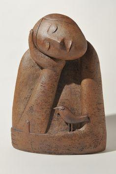 BUSTE: of borstbeeld is een beeldhouwwerk dat enkel het hoofd, de borst en de schouders toont. Het is bedoeld als beeldhouw-tegenhanger van het portret.