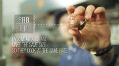 家庭でできるプロの料理The Meatball Shopシェフ直伝のミートボールレシピ