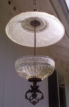 light fixture bird feeder