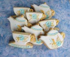 tea cups and pots need these cookies @udontknowmarli