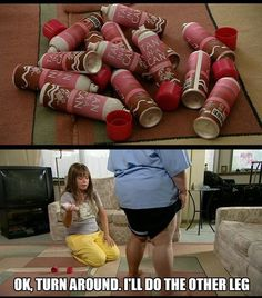 Sharon's Tan haha Kim Tv, Trixie And Katya, Funny Jokes, Hilarious, Trailer Park Boys, Weekend Crafts, Fake Tan, Belly Laughs, Haha