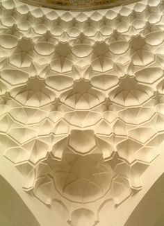 Albukhary Mosque in Alor Setar, Malaysia - eight-pointed stars in muqarnas