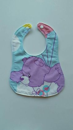 Check out this item in my Etsy shop https://www.etsy.com/au/listing/554397067/care-bears-baby-bib-cotton-upper-plain