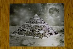 Pyramid on Mars 3D Lenticular by Coldiein3D on Etsy