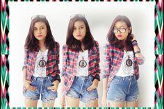 #british #style #fashion #girl #flannel