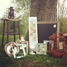 Vintage barn sale style