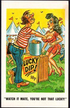 Postcard - Comic Saucy - Postcard No. 266 - By Sunny Pedro   eBay