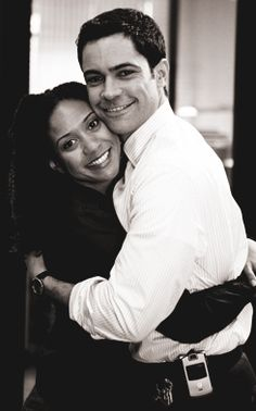 Tracie Thoms and Danny Pino.