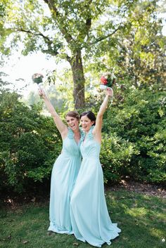 Pretty Mint & Coral Wedding at The Corry House|Photographer: Brandy Angel Photography