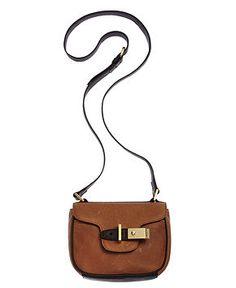 Messenger Bags and Crossbody Bags - Macy's Crossbody Messenger Bag, Leather Crossbody, Leather Handbags, Calvin Klein Handbags, Handbag Accessories, Nine West, Fashion Bags, Saddle Bags, Casual