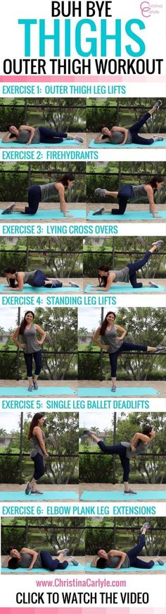 Workouts for Women – Outer Thigh Exercises