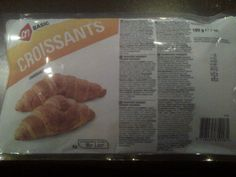 AH Croissants lactosevrij Lactose Free, Dairy Free, Croissants, Fodmap, Free Food, Sausage, Vegan Recipes, Milk, Foodies