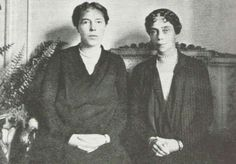 "The sisters of the last Tsar of Russia...the Grand Duchesses Olga and Xenia Alexandrovna Romanova of Russia.   ""AL"""