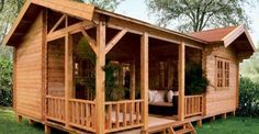 A Steal at $17,400 Rio Log Cabin - Click for Floorplans