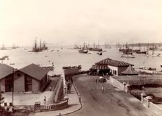 Colombo Harbour, Ceylon 1880-1890