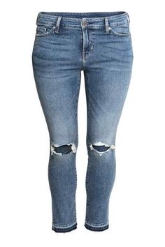 H&M+ Slim Regular Ankle Jeans