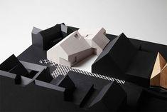 Design - Music - Thinking Concept Models Architecture, Modern Architecture, Duggan Morris, Community Housing, Archi Design, Arch Model, Urban Design, Facade, Presentation