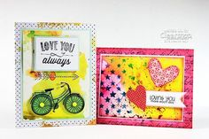 Meihsia shares two lovely and fun cards featuring ColorBox® Creative Cards and Izink – Distributed by Clearsnap®.