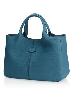Small Shopping Bag In Leather, Collection, Woman, Tod's. Tods