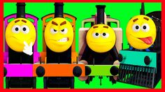 TRAIN FINGER FAMILY! | Part 18 | CHILDREN NURSERY RHYME | Baby Song | ME...