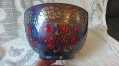 Cigarette Holder, Fish Patterns, Earthenware, Hungary, Porcelain, Vase, Purple, Porcelain Ceramics, Flower Vases