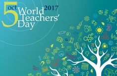 World Teacher's Day is celebrated on 5 October.