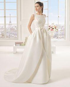EPICO vestido de novia Rosa Clará Two