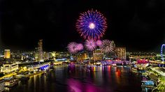 """Bay Fireworks"" by T L Ng"