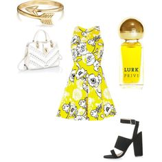 Stunning summer outfit. by gracerankcom on Polyvore featuring polyvore fashion style River Island Topshop Bling Jewelry Lurk