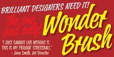 Wonder Brush™ font download