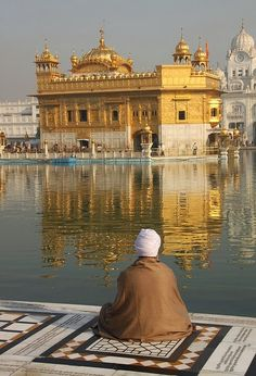 Golden Temple of the Sikhs - Panjab, India