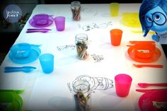 Inside Out Party Table via Loulou + Jones