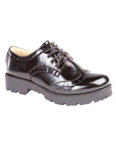6635c50da7d8 Vegan Mel Chunky Brogue Shoes from Fashion Conscience UK Vegan Shoes