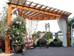 triangle pergola - Google Search