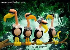 Twisted Cinema – The Jungle Book Balloon Toys, Balloon Hat, Balloon Crafts, Balloon Animals, Balloon Arch, Animal Balloons, Twisting Balloons, Jungle Balloons, Its A Boy Balloons